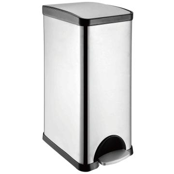 30L Stainless Steel Pedal Trash bin