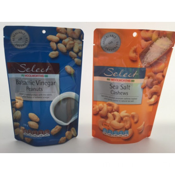 200g Stand Up Zipper Doy Pack For Nuts