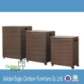 4 Seaters Outdoor Rattan Furniture Bar Furniture Set