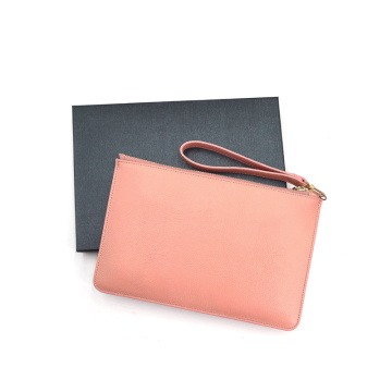 Customized Genuine Leather Clutch Bags for women