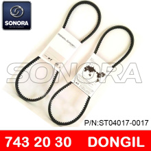 DONGIL DRIVE BELT V BELT743 x 20 x 30 SCOOTER MOTORCYCLE V BELT ORIGINAL QUALITY