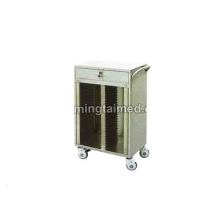 Stainless steel 60 lattice medical records folder
