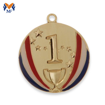 Buy custom gold metal coolest race medals