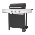 Three Burner Gas Grill Barbecue