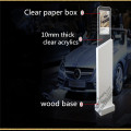 Freestanding Showroom Catalog Display Stand