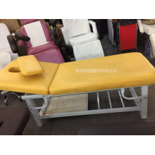 Simple Style Metal Frame Salon Facial Bed
