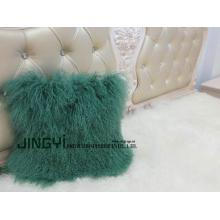 China for Mongolian Wool Pillow Mongolian Sheep Skin Fur Pillow supply to Portugal Factories