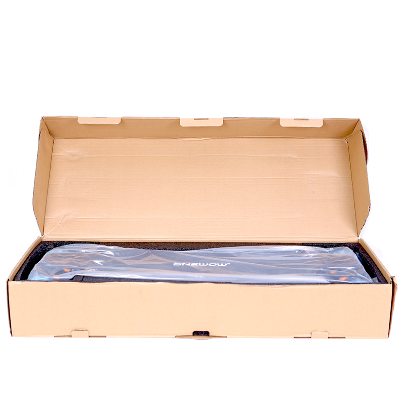 Direct drive skateboard carton box