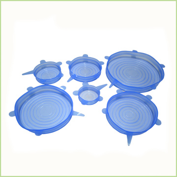Useful Flexible Silicone Stretch Lid for Food