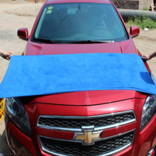 300 gsm clean car towel