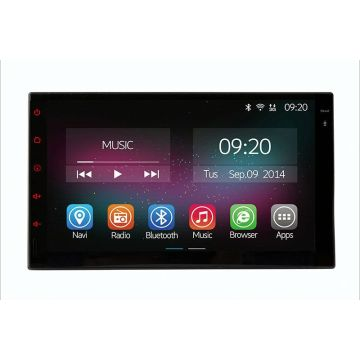 In dash universal double din car DVD