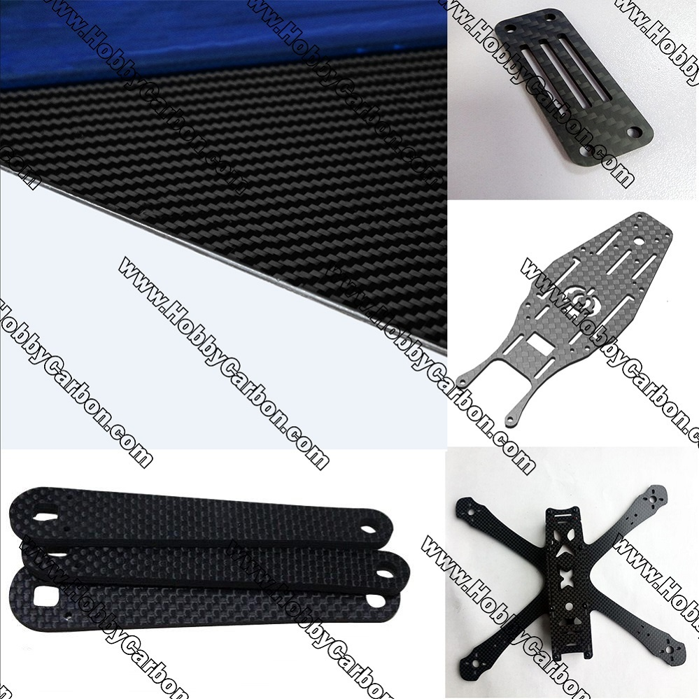 Carbon Fiber Plate 4.0mm for FPV Frames