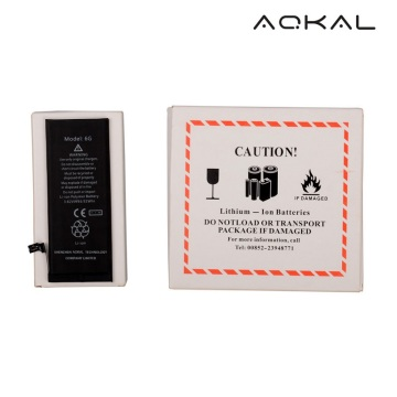 OEM China for iPhone 6 Li-ion Battery with TI iPhone 6 Battery Replacement with Original TI IC supply to Spain Wholesale