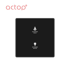 Intelligent Touch Panel Smart Light Switch/Hotel Smart Light Switch