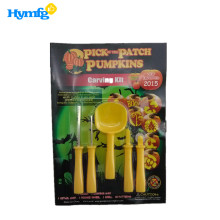 China for Pumpkin Carving Kit Plastic Halloween Kids Pumpkin Carving Kit export to Poland Manufacturers