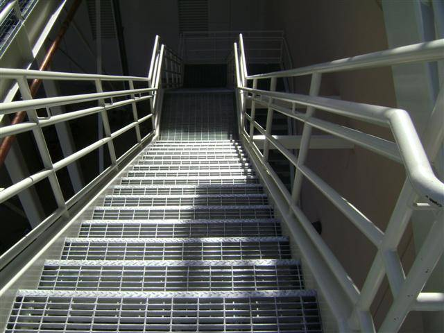 Welded Stair Treads