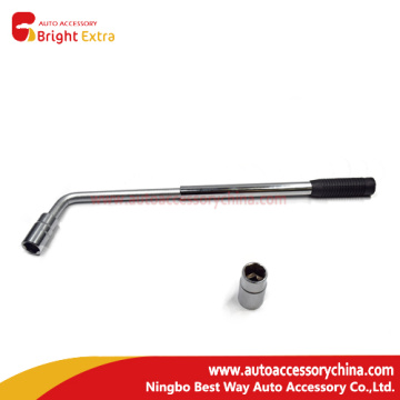 Bottom price for China Universal Lug Wrench,Nut Wrench,Spanner Wrench,Lug Wrench,Auto Wrench Supplier L Type Telescoping Lug Wrench export to Equatorial Guinea Manufacturer