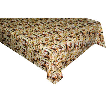 Elegant Tablecloth with Non woven backing for Parties