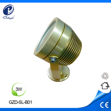 DC24V 3W yard decaration mini led spotlight