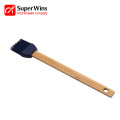Wooden Handle Silicone Pastry Brush