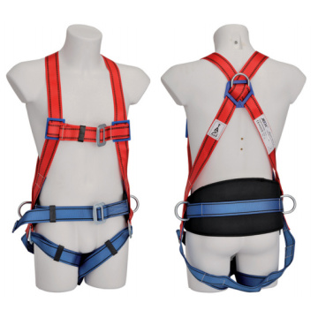 Strong Nylon Protection Full Body Safety Harness