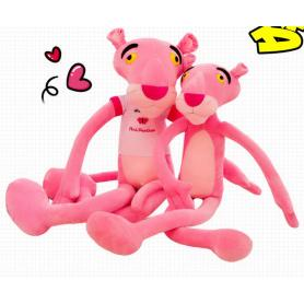 Pink Leopard Shaped Plush Toy