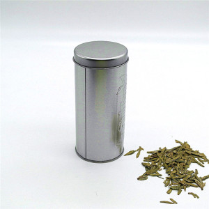 Round tinplate Metal Coffee Tea Storage Cans