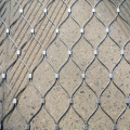 Decorative Rope Frame Fence flexible wire cable rope mesh net