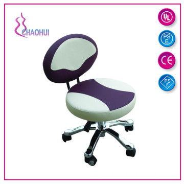 Discountable price for Leather Master Chair Spa Furniture Stool For Sale export to India Factories