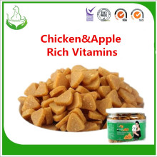 Factory directly for Dry Dog Treat,Dog Treats,Raw Dog Food Manufacturers and Suppliers in China happy dog food chicken & apple granule export to Poland Wholesale