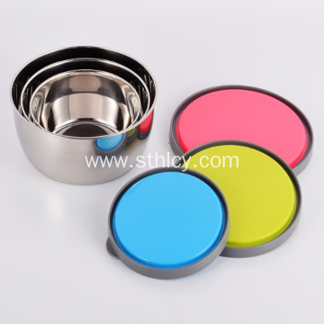 Stainless Steel Food Container Sealed with Cover