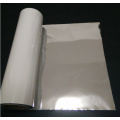Silver and white PET FILM