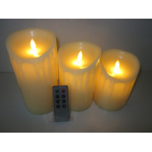 Good Quality for Flameless Candles With Remote High quality remote control led pillar candle supply to United States Exporter