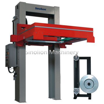 Automatic plaster board strapper