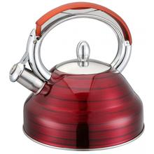 Beauty Red Whistling Kettle