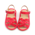Beautiful Baby Leather Sandals Sqeaky Baby Shoes