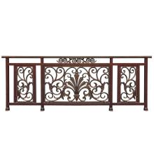 Bloom flower aluminum balcony fence