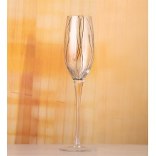 Striped Wine Glass/Drinking Glassware