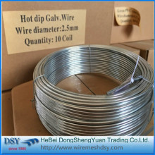 electro galvanized iron wire Q235 Q195