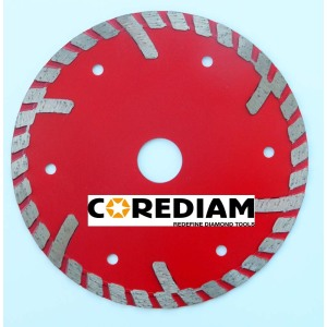 Sintered Stone Turbo Blade With Narrow Segment