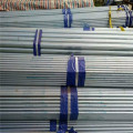 1.5 inch Hot dipped galvanized seamless steel pipes