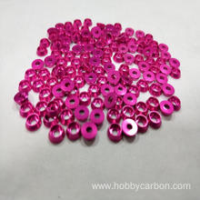 Hobbycarbon aluminum countersunk washer for screw