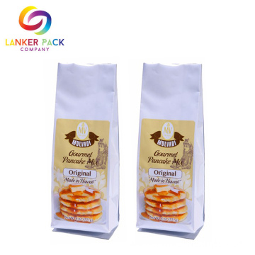 FDA Approved Laminated Quad Seal Cookie Packaging