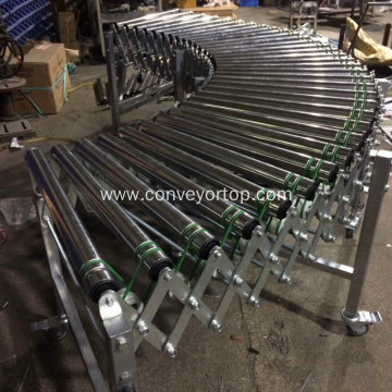 Flexible Turning Conveyor Flexible Roller Conveyors System