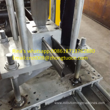 U shape guide rail machine shuttering door guide rail roll forming machinery