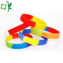 Hot New Products for Engraved Silicone Bracelet Best Quality Waterproof Fitness Debossed Exercise Wristbands export to India Manufacturers