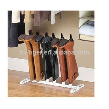 3 Pair Boot stackable plastic shoe rack Organizer with cheap price
