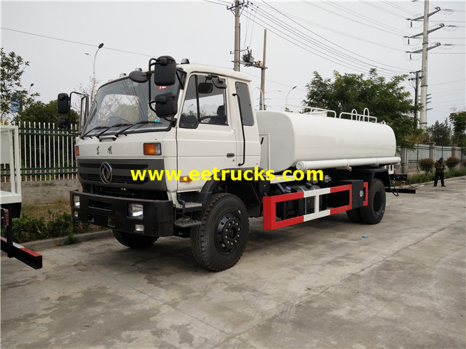 170hp Water Sprinkling Tanker Vehicles