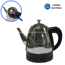 Cheap PriceList for Stainless Steel Electric Tea Kettle 1.0Liter small factory electric kettle export to Portugal Manufacturers