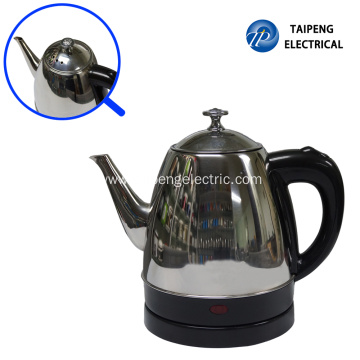 Top for Cordless Electric Tea Kettle 1.0Liter small factory electric kettle supply to Italy Manufacturers
